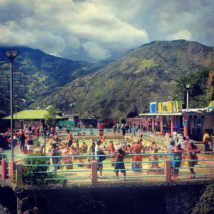 Hot springs in Baños