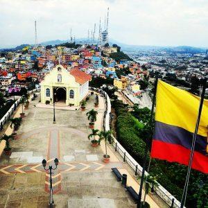 View from the top of El Cerro Las Peñas