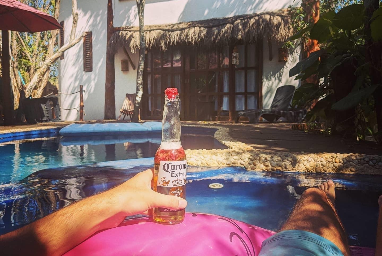 Corona in Mexico