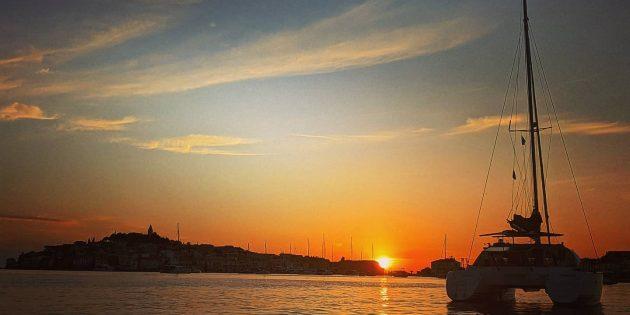 Croatia 4-Sunset Sailboat